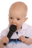 μωρό DJ τρία Στοκ εικόνα με δικαίωμα ελεύθερης χρήσης