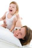 μωρό mather Στοκ φωτογραφία με δικαίωμα ελεύθερης χρήσης