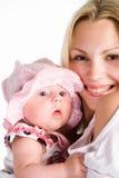 μωρό mom αρκετά Στοκ φωτογραφία με δικαίωμα ελεύθερης χρήσης