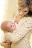 μωρό mum Στοκ Φωτογραφία