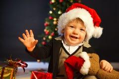 Μωρό Santa στοκ φωτογραφίες με δικαίωμα ελεύθερης χρήσης