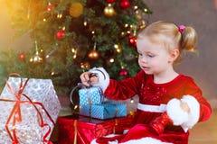 Μωρό Santa στοκ φωτογραφίες
