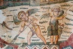 μωσαϊκά Ρωμαίος Στοκ Φωτογραφία