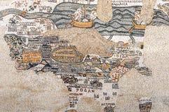 Μωσαϊκό από την εκκλησία Kayanos Στοκ Εικόνα