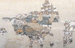 Μωσαϊκό από την εκκλησία Kayanos Στοκ εικόνα με δικαίωμα ελεύθερης χρήσης