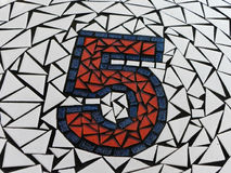 Μωσαϊκό αριθ. 5 Στοκ εικόνα με δικαίωμα ελεύθερης χρήσης