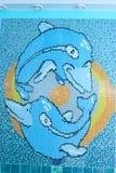 μωσαϊκό δελφινιών Στοκ Φωτογραφίες