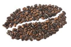 μωσαϊκό καφέ φασολιών στοκ εικόνες