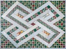 Μωσαϊκό πατωμάτων στη βασιλική των Αγίων Bonifacio και Alessio στο Hill Aventine στη Ρώμη, Ιταλία στοκ φωτογραφία με δικαίωμα ελεύθερης χρήσης