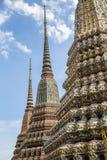 Μωσαϊκό που απαριθμεί στους ναούς Wat Pho στη Μπανγκόκ Στοκ εικόνες με δικαίωμα ελεύθερης χρήσης