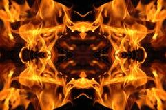 μωσαϊκό πυρκαγιάς Στοκ Φωτογραφία