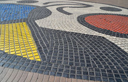 Μωσαϊκό στη Βαρκελώνη, Ισπανία Στοκ φωτογραφία με δικαίωμα ελεύθερης χρήσης