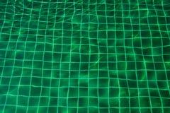 Μωσαϊκό της πισίνας πράσινου Στοκ Φωτογραφίες