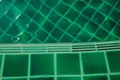 Μωσαϊκό της πισίνας πράσινου Στοκ εικόνες με δικαίωμα ελεύθερης χρήσης