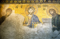 μωσαϊκό Χριστού Ιησούς Στοκ Εικόνα