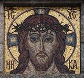 μωσαϊκό Χριστού Ιησούς Στοκ Εικόνες