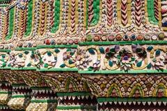 Μωσαϊκό Phra Kaew Wat Στοκ Εικόνες
