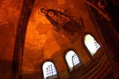 μωσαϊκό Virgin του Ιησού Mary Στοκ φωτογραφία με δικαίωμα ελεύθερης χρήσης