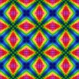 Μωσαϊκών καλειδοσκόπιων υπόβαθρο σύστασης - φάσμα ουράνιων τόξων που χρωματίζεται άνευ ραφής Στοκ Εικόνες