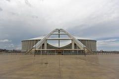 Μωυσής Mabhida Stadium Split Arch Στοκ φωτογραφία με δικαίωμα ελεύθερης χρήσης