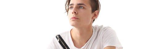 Μόδας επιχειρησιακών ατόμων πορτρέτο που απομονώνεται σύγχρονο Στοκ εικόνες με δικαίωμα ελεύθερης χρήσης