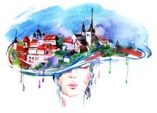 μόδα αστική Στοκ εικόνες με δικαίωμα ελεύθερης χρήσης