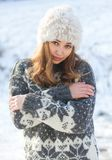 Μόδα για τις κρύες ημέρες Στοκ φωτογραφία με δικαίωμα ελεύθερης χρήσης