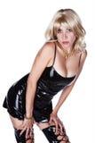 μόδα ΙΙ ώριμη προκλητική καλυμμένη γυναίκα Στοκ φωτογραφία με δικαίωμα ελεύθερης χρήσης