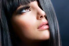 μόδα brunette Στοκ φωτογραφία με δικαίωμα ελεύθερης χρήσης