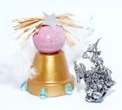 μόλυβδος Χριστουγέννων αγγέλου Στοκ εικόνα με δικαίωμα ελεύθερης χρήσης