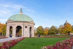 Μόναχο, Γερμανία - 24.2015 Οκτωβρίου: Pavillion σε Hofgarten το μεσημέρι μέσα Στοκ Εικόνες