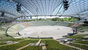 Μόναχο, Γερμανία, στις 24 Απριλίου 2016: Άποψη του ολυμπιακού σταδίου στο Μόναχο Γερμανία Στοκ εικόνες με δικαίωμα ελεύθερης χρήσης