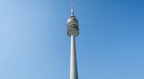 Μόναχο, Γερμανία, στις 24 Απριλίου 2016: Olympiaturm στο ολυμπιακό πάρκο, Μόναχο Γερμανία Στοκ φωτογραφία με δικαίωμα ελεύθερης χρήσης