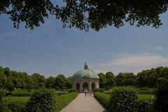 Μόναχο, Γερμανία - Dianatempel στον κήπο Hofgarten στοκ φωτογραφία με δικαίωμα ελεύθερης χρήσης