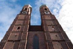 Μόναχο Frauenkirche Στοκ εικόνες με δικαίωμα ελεύθερης χρήσης