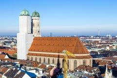 Μόναχο Frauenkirche Στοκ Εικόνες