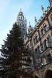 Μόναχο Neues Rathaus Στοκ φωτογραφίες με δικαίωμα ελεύθερης χρήσης