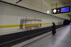 Μόναχο u-Bahn στοκ εικόνες
