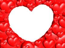 μόνα μέρη καρδιών καρδιών Στοκ εικόνες με δικαίωμα ελεύθερης χρήσης