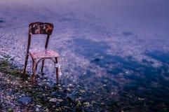 Μόνη ακτή Στοκ φωτογραφία με δικαίωμα ελεύθερης χρήσης