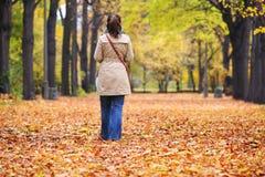Μόνη γυναίκα Στοκ εικόνα με δικαίωμα ελεύθερης χρήσης