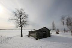 μόνη καλύβα Στοκ εικόνες με δικαίωμα ελεύθερης χρήσης