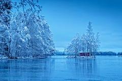 Μόνη καμπίνα σαουνών Στοκ εικόνα με δικαίωμα ελεύθερης χρήσης