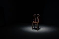 Μόνη καρέκλα στο κενό δωμάτιο Στοκ φωτογραφίες με δικαίωμα ελεύθερης χρήσης