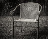Μόνη καρέκλα Στοκ εικόνα με δικαίωμα ελεύθερης χρήσης