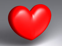 μόνη καρδιά Στοκ Φωτογραφίες