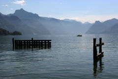 μόνη λίμνη στοκ εικόνα με δικαίωμα ελεύθερης χρήσης
