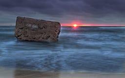 μόνη πέτρα Στοκ Φωτογραφίες