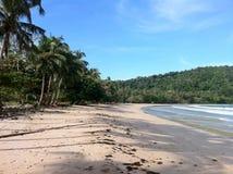Μόνη παραλία στις Φιλιππίνες Στοκ Εικόνες