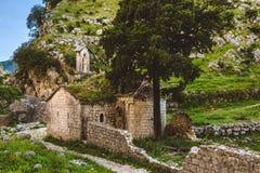 Μόνη σερβική εκκλησία στα βουνά Στοκ φωτογραφία με δικαίωμα ελεύθερης χρήσης